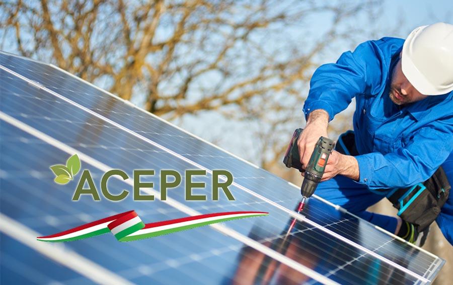 L'Italia è il secondo produttore europeo di tecnologie per impianti FER