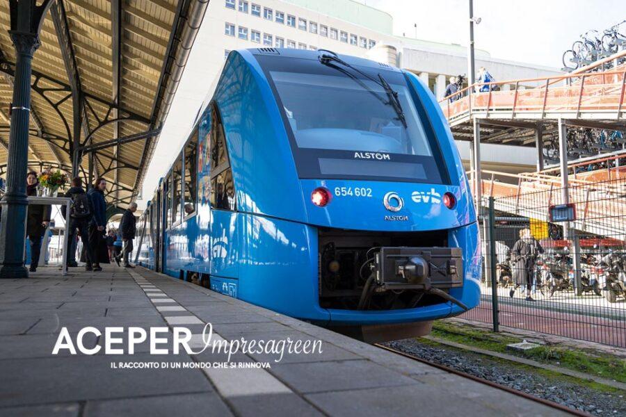 I treni spinti dall'idrogeno presto in Italia